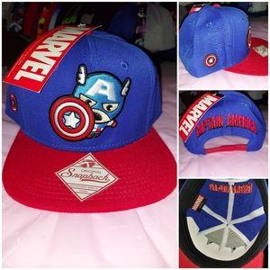 Marvel Captain America snapback hat